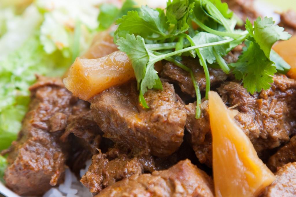 Spicy Indonesian Beef Rendang